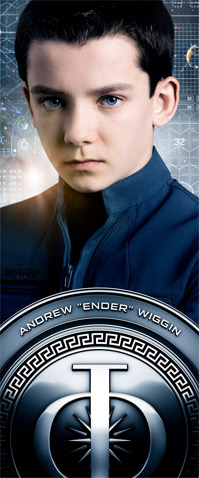 Ender's Game Character Posters
