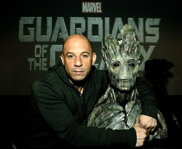 Vin Diesel & Groot