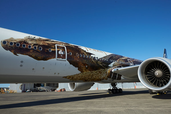 Smaug Airplane - Air New Zealand
