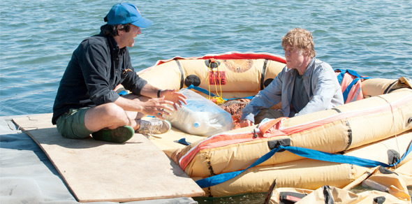 J.C. Chandor & Robert Redford Filming All is Lost