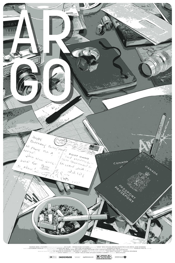 Mondo Argo Poster Art