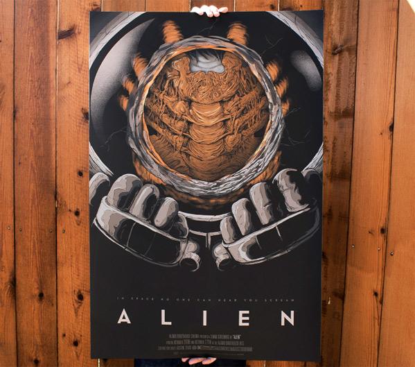 Alien Mondo Poster Randy Ortiz