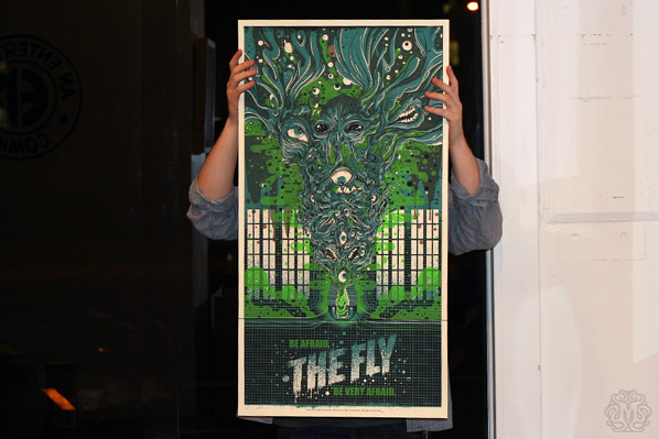Mondo - The Fly Drew Millward