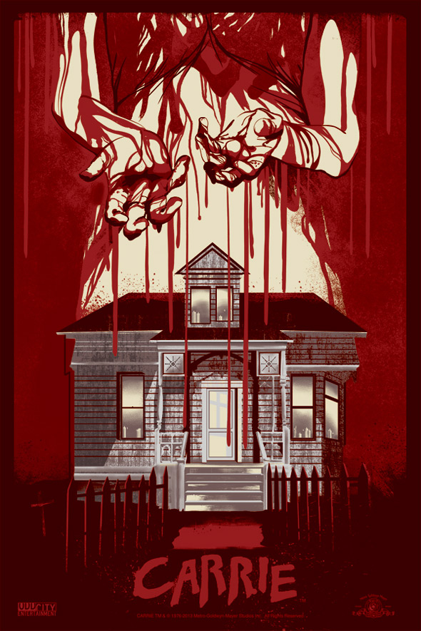 Odd City Carrie Poster Art