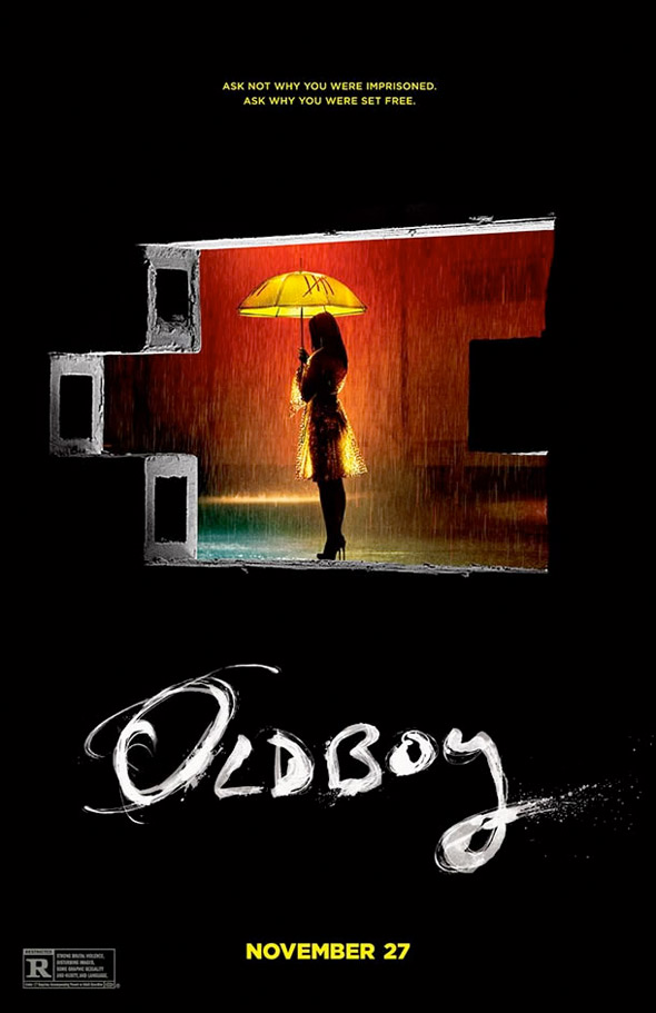 Spike Lee's Oldboy Alternate Poster