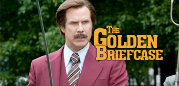 The Golden Briefcase - Ron Burgundy