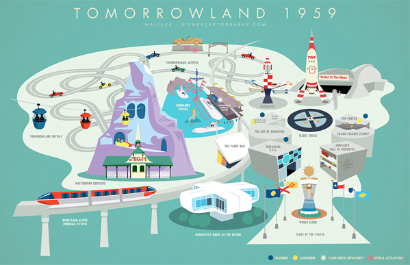 Tomorrowland Map