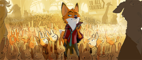 Zootopia - Disney Animation - Concept Art