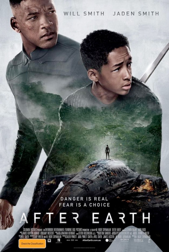 After Earth International Poster