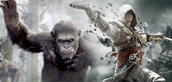 Dawn of the Planet of the Apes / Assassin's Creed