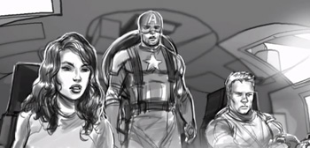 The Avengers Storyboard Animatics