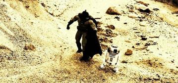 Batman & R2-D2