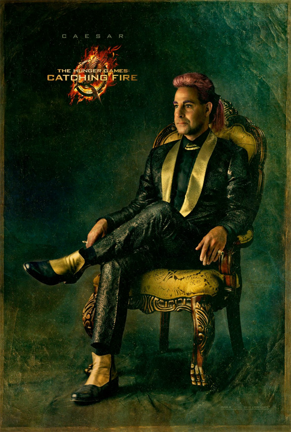 The Hunger Games: Catching Fire - Caesar Portrait Poster