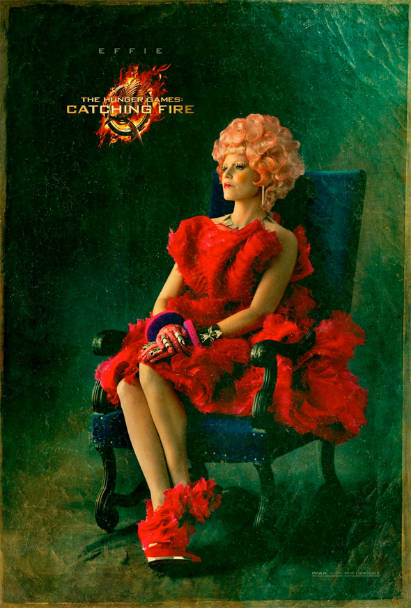 The Hunger Games: Catching Fire - Effie Portrait Poster