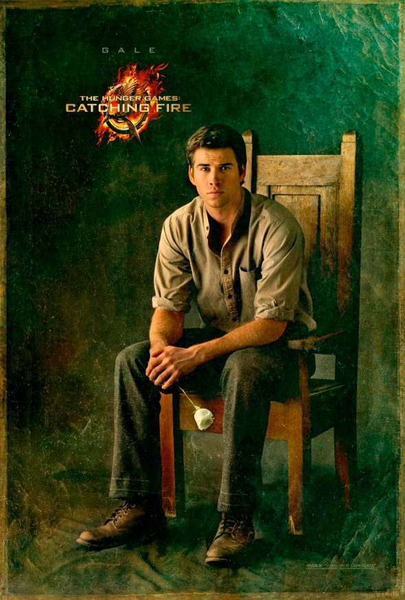 The Hunger Games: Catching Fire - Gale Portrait Poster