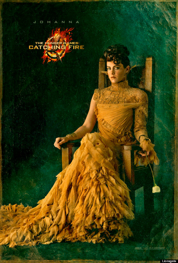 The Hunger Games: Catching Fire - Johanna Portrait Poster