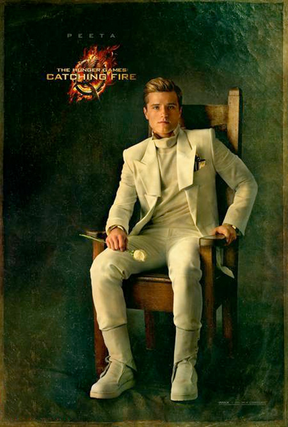 The Hunger Games: Catching Fire - Peeta Portrait Poster