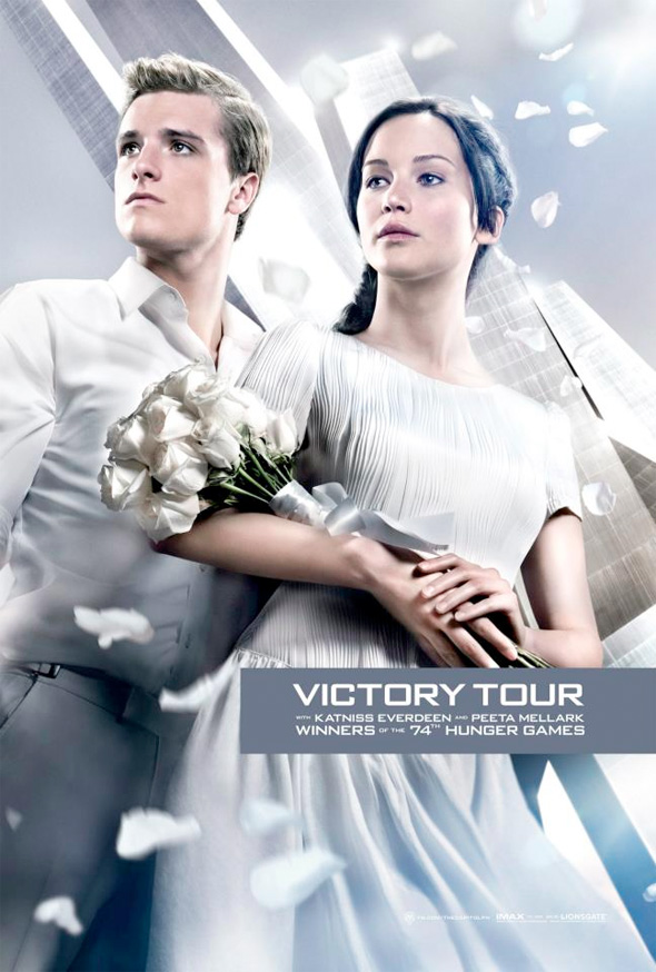 The Hunger Games: Catching Fire - Victory Tour Poster
