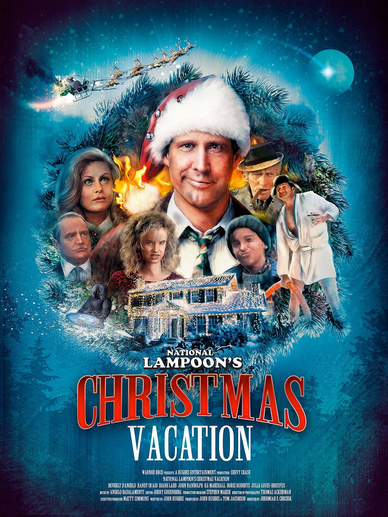 See This Gorgeous 'National Lampoon's Christmas Vacation