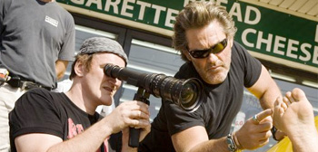 Kurt Russell & Quentin Tarantino