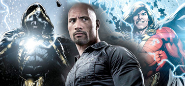 Black Adam / Dwayne Johnson / Shazam