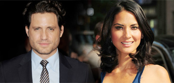 Edgar Ramirez and Olivia Munn