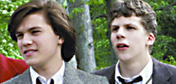 Emile Hirsch and Jesse Eisenberg