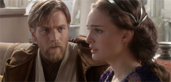 Ewan McGregor and Natalie Portman