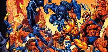 Fantastic Four vs. X-Men
