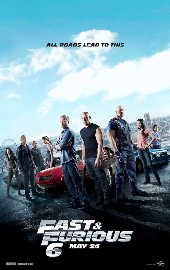 Fast and Furious 6 - Final Poster