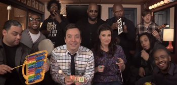 Jimmy Fallon, The Roots & Idina Menzel