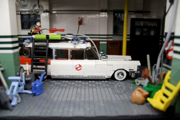 Ghostbusters LEGO Firehouse