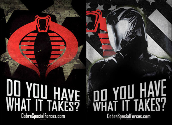 G.I. Joe: Retaliation - COBRA Recruitment