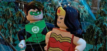 Green Lantern / Wonder Woman LEGO