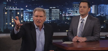 Harrison Ford on Jimmy Kimmel