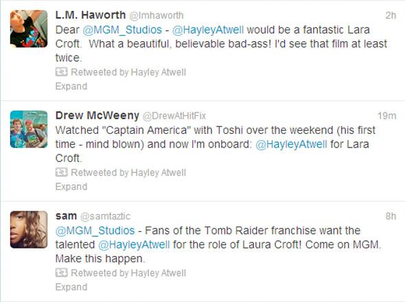 Hayley Atwell Tweets