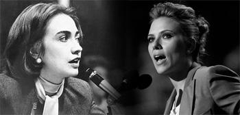 Hilary Clinton / Scarlett Johansson
