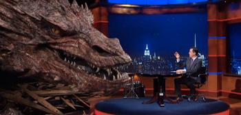 Stephen Colbert & Smaug
