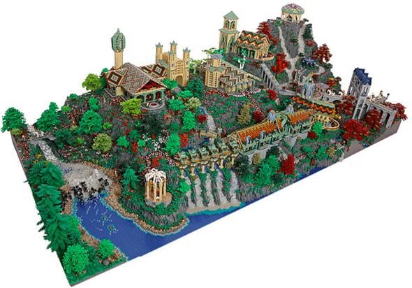 Rivendell LEGO Set