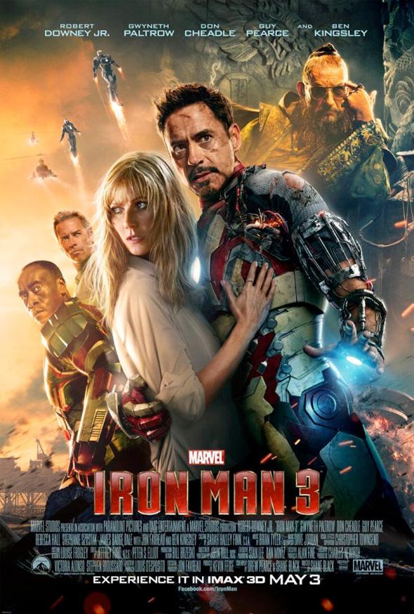 Iron Man 3 - IMAX Poster