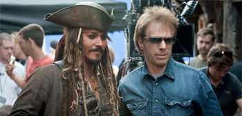 Johnny Depp and Jerry Bruckheimer