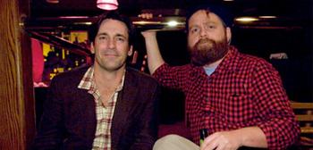 Jon Hamm and Zach Galifianakis