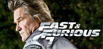 > 'Fast & Furious 8' Coming, But Kurt Russell Not in 'Fast & Furious 7'? - Photo posted in The TV and Movie Spot | Sign in and leave a comment below!