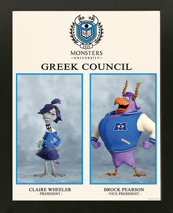 Monsters University - Greek Photos