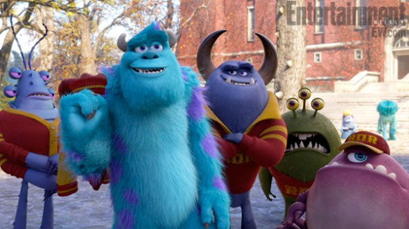 Monsters University - Sully and Worthington