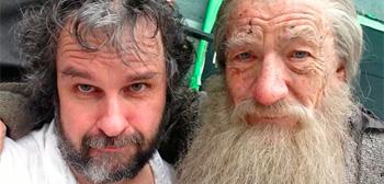 Peter Jackson & Ian McKellen