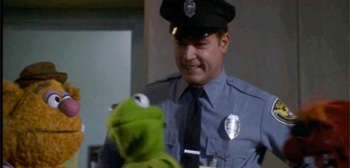 Ray Liotta with Muppets