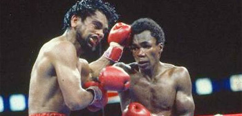 Robert Duran vs. Sugar Ray Leonard