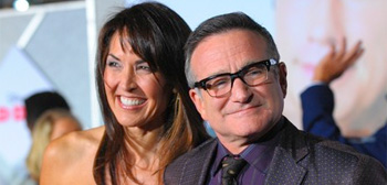 Robin Williams & Susan Schneider