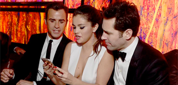 Selena Gomes & Paul Rudd